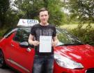 Elliott McDonagh of Euxton. Passed 9 September