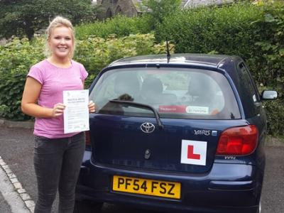 Passed 25 June: Amy Robinson of Chorley