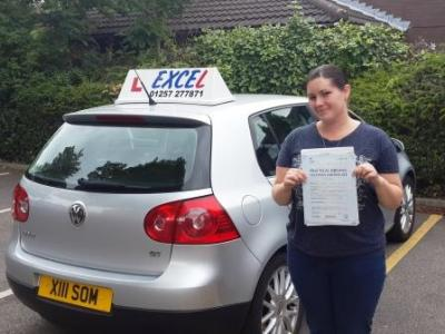 Passed 27 June: Tara McNally of Blackrod
